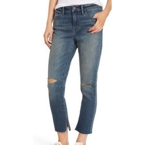 Treasure and Bond New high-rise distressed skinny jean denim size 27 cropped